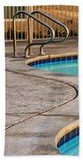 Gracious Curves Palm Springs Beach Towel