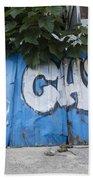 Graffiti-0579 Beach Towel