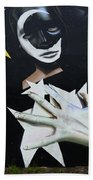 Graffiti Art Curitiba Barazil 13 Beach Towel by Bob Christopher