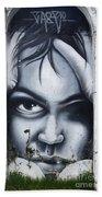 Graffiti Art Curitiba Brazil 2 Beach Towel
