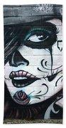 Graffiti Art Curitiba Brazil 21 Beach Towel by Bob Christopher