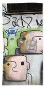 Graffiti Art Rio De Janeiro 5 Beach Towel