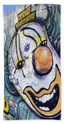 Graffiti Art Santa Catarina Island Brazil 1 Beach Towel by Bob Christopher