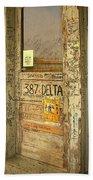 Graffiti Door - Ground Zero Blues Club Ms Delta Beach Towel