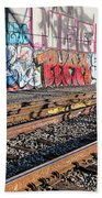 Graffiti On The Wall, Tenth Street Beach Sheet