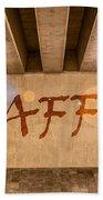 Graffiti Beach Towel