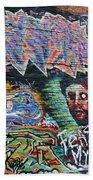 Graffiti Series 01 Beach Towel