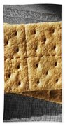 Graham Crackers Beach Towel
