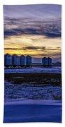 Grain Barns Beach Towel