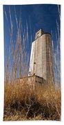 Grain Elevator Beach Towel