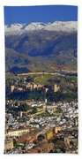 Granada And The Alhambra Beach Towel