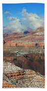 grand Canyon After the Snow Beach Towel