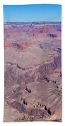Grand Canyon And Colorado River Beach Towel