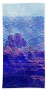 Grand Canyon As A Painting 2 Beach Towel