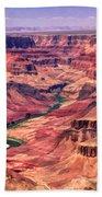 Grand Canyon Colorado Canyon Beach Towel