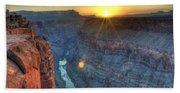 Grand Canyon First Light Beach Towel