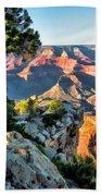 Grand Canyon Ledge Beach Towel