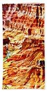 Grand Canyon Navajo Painting Beach Towel