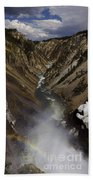 Grand Canyon Of The Yellowstone - 25x63 Beach Towel