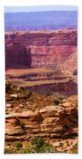 Grand Canyon Of Utah Beach Towel by Adam Jewell
