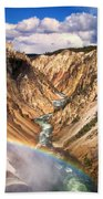 Grand Canyon Of Yellowstone 1 Beach Towel
