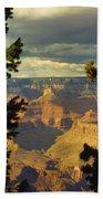 Grand Canyon Peek Beach Towel