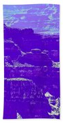 Grand Canyon Purples Beach Towel