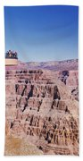 Grand Canyon Skywalk, Eagle Point, West Beach Towel