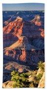 Grand Canyon Sunset Ridge Beach Towel