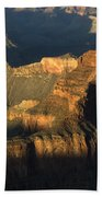 Grand Canyon Symphony Of Light And Shadow Beach Towel by Bob Christopher