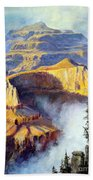 Grand Canyon View Beach Towel