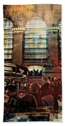 Grand Central Terminal 100 Years Beach Towel by Diana Angstadt