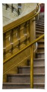 Grand Central Terminal Staircase Beach Towel