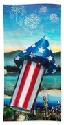 Grand Finale Beach Towel by Shana Rowe Jackson