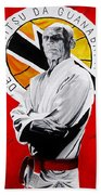 Grand Master Helio Gracie Beach Towel