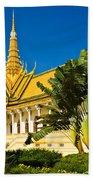 Grand Palace - Cambodia Beach Towel