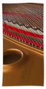 Grand Piano Beach Towel