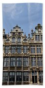 Grand Place Brussels Beach Towel