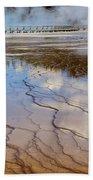 Grand Prismatic Runoff - Yellowstone Beach Towel