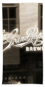 Grand Rapids Brewing Co Beach Towel