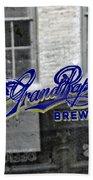 Grand Rapids Brewing Beach Towel