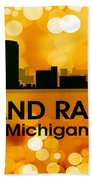Grand Rapids Mi 3 Beach Towel