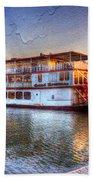 Grand Romance Riverboat Beach Sheet