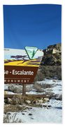 Grand Staircase-escalante National Monument Beach Towel