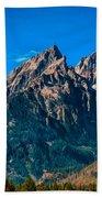Grand Teton Mountain Beach Towel