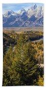 Grand Tetons Beach Towel