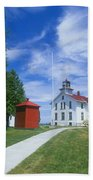 Grand Traverse Lighthouse Beach Towel