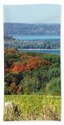 Grand Traverse Winery Lookout Beach Towel