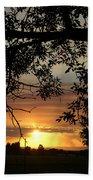Grand Valley Sunset Beach Towel
