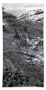 Grandfather Mountain's Linville Peak  Beach Towel